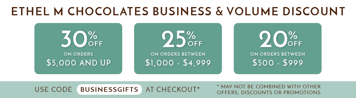 Ethel M Business Volume Discount