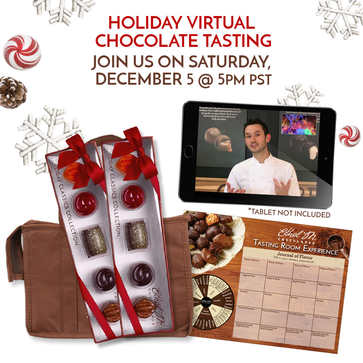 Christmas Virtual Tasting Package | December 5
