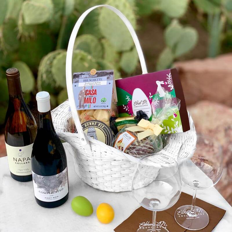 Wine basket idea