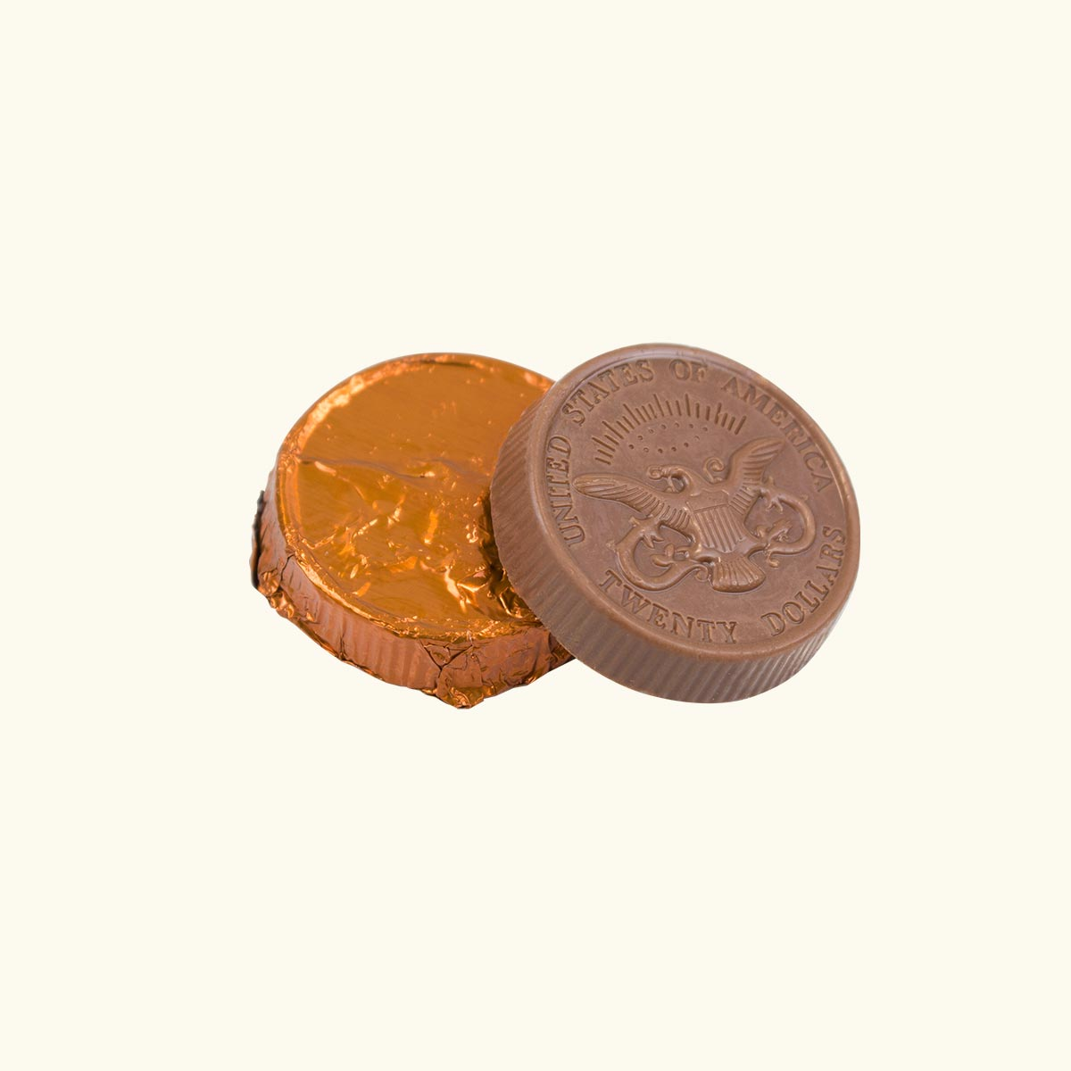 Milk Chocolate Coin