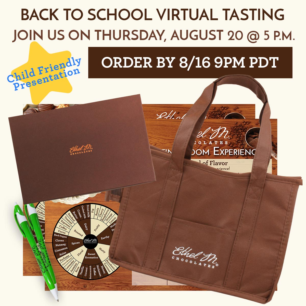 Back to School Virtual Tasting