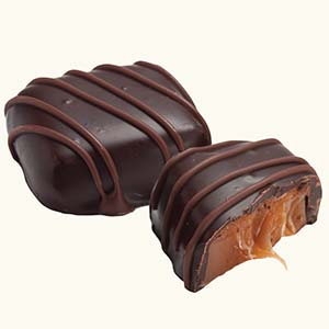 Ethel_M_Chocolates_Dark_Chocolate_Chewy_Caramel_Individual_Piece_With_Internal_View