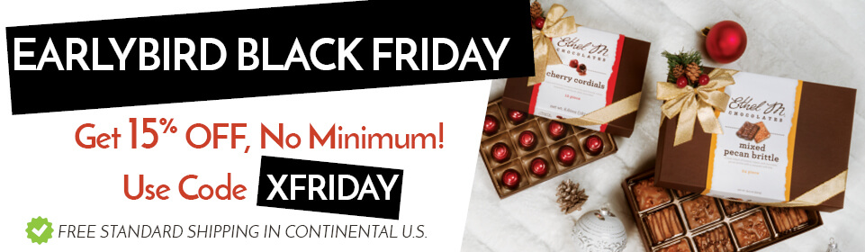 Earlybird Black Friday! Get 15% off, no minimum! Use code XFRIDAY