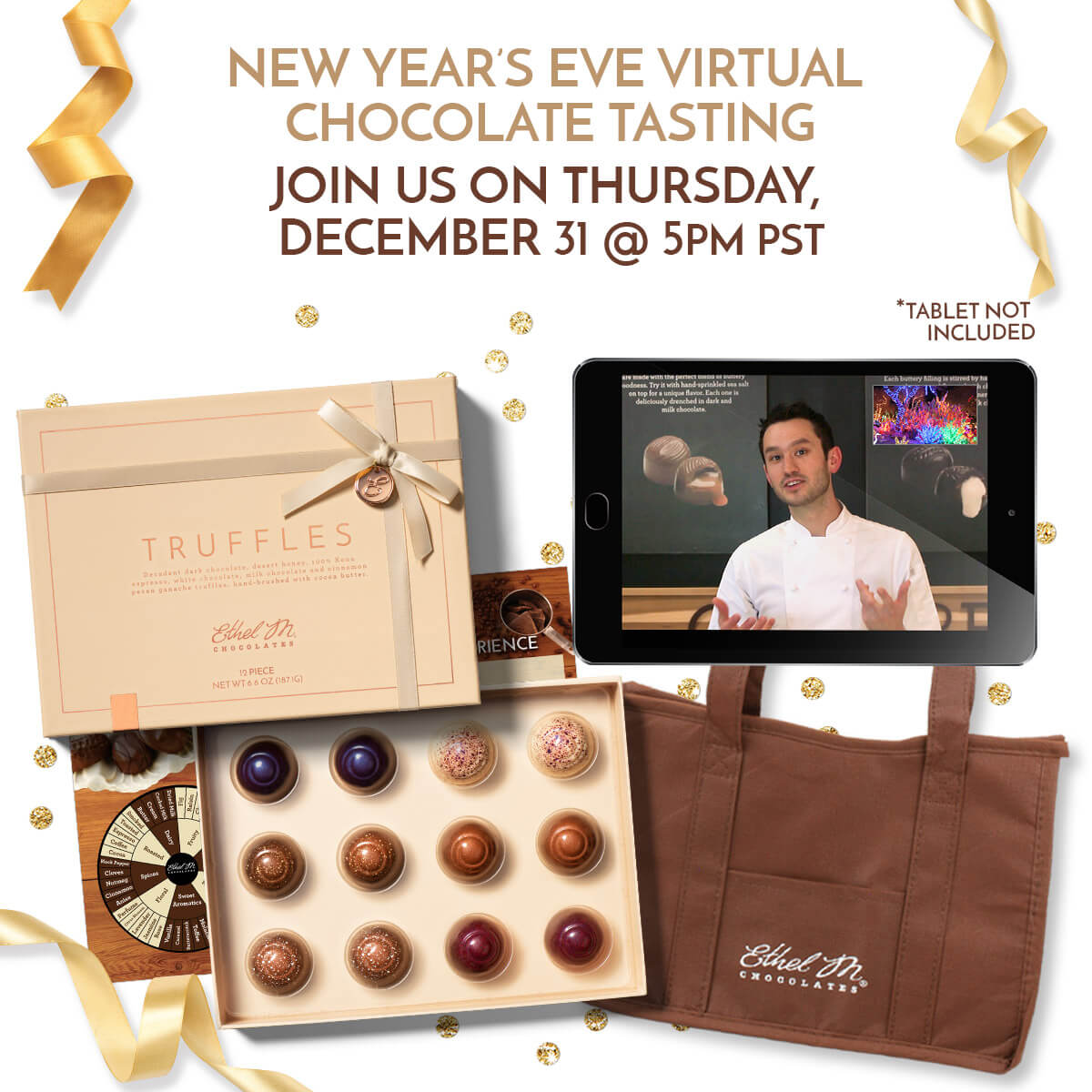New Years Eve Virtual Tasting Package | December 31 @ 5pm pst