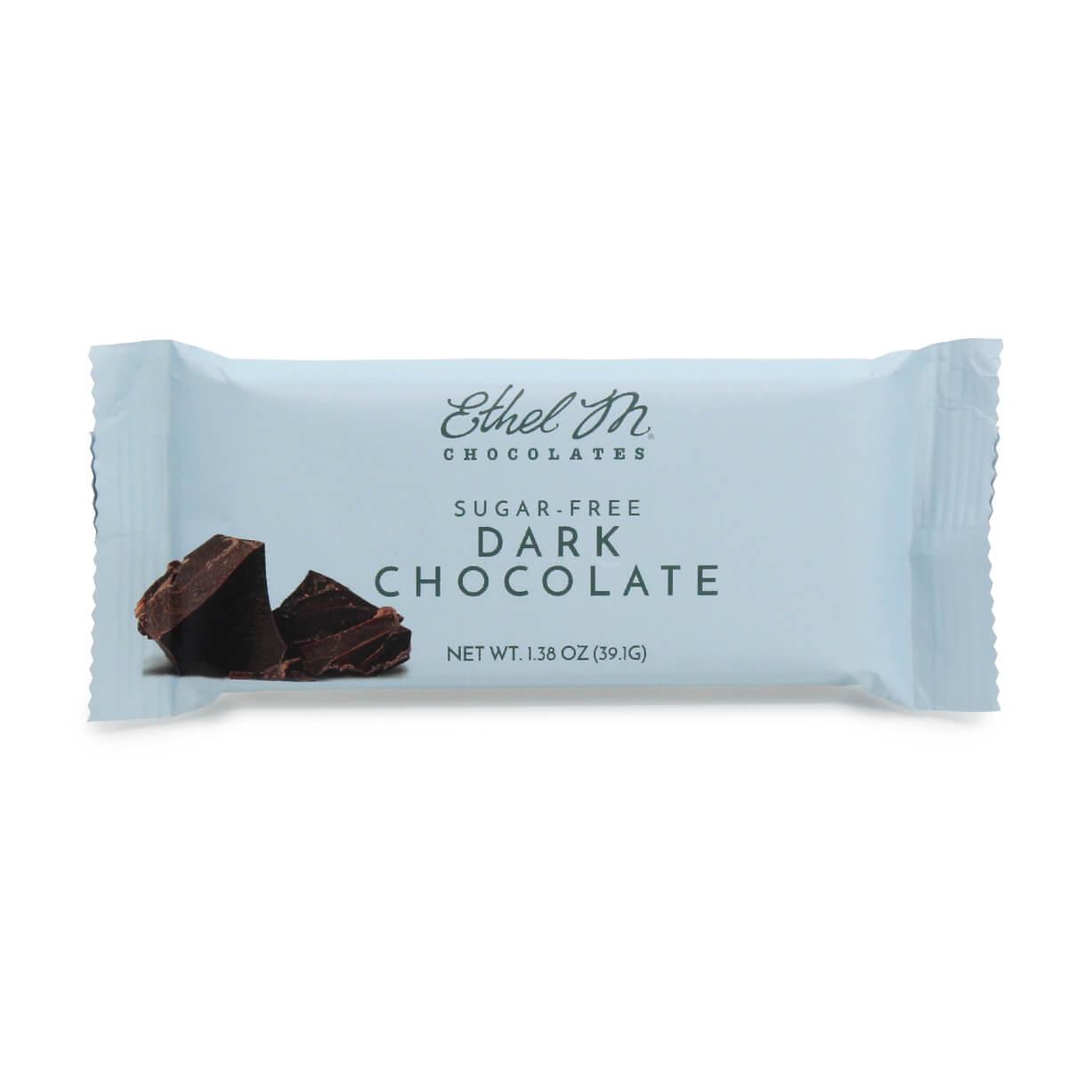 sugar free dark bar
