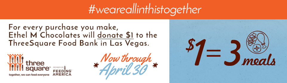 Threesquare $1 donation with every purchase