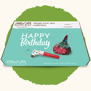 Design your own Chocolate Box with Happy Birthday Sleeve