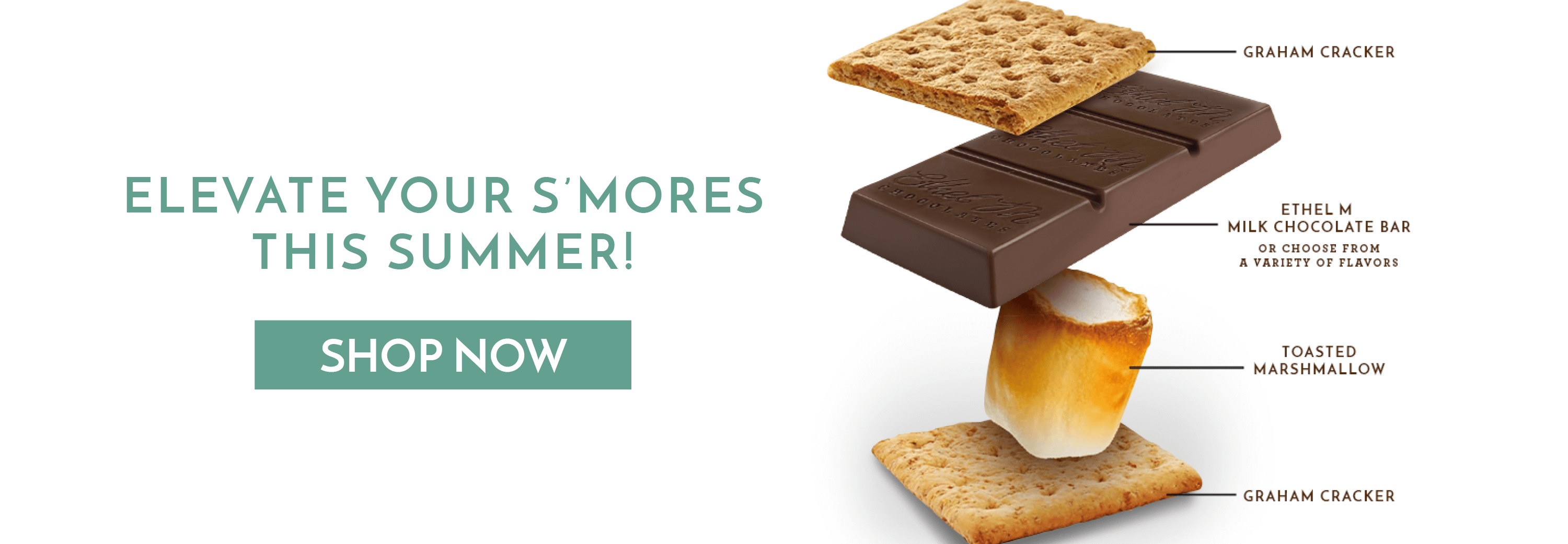 Elevate your s'mores with our milk chocolate bars