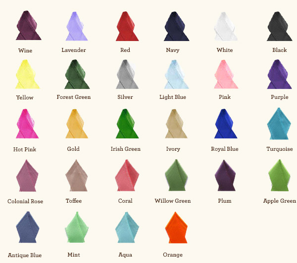 Choose from the Custom Ribbon Colors