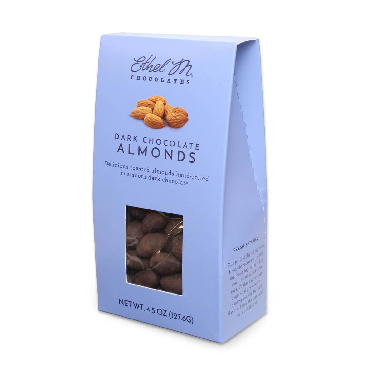Panned Dark Almonds
