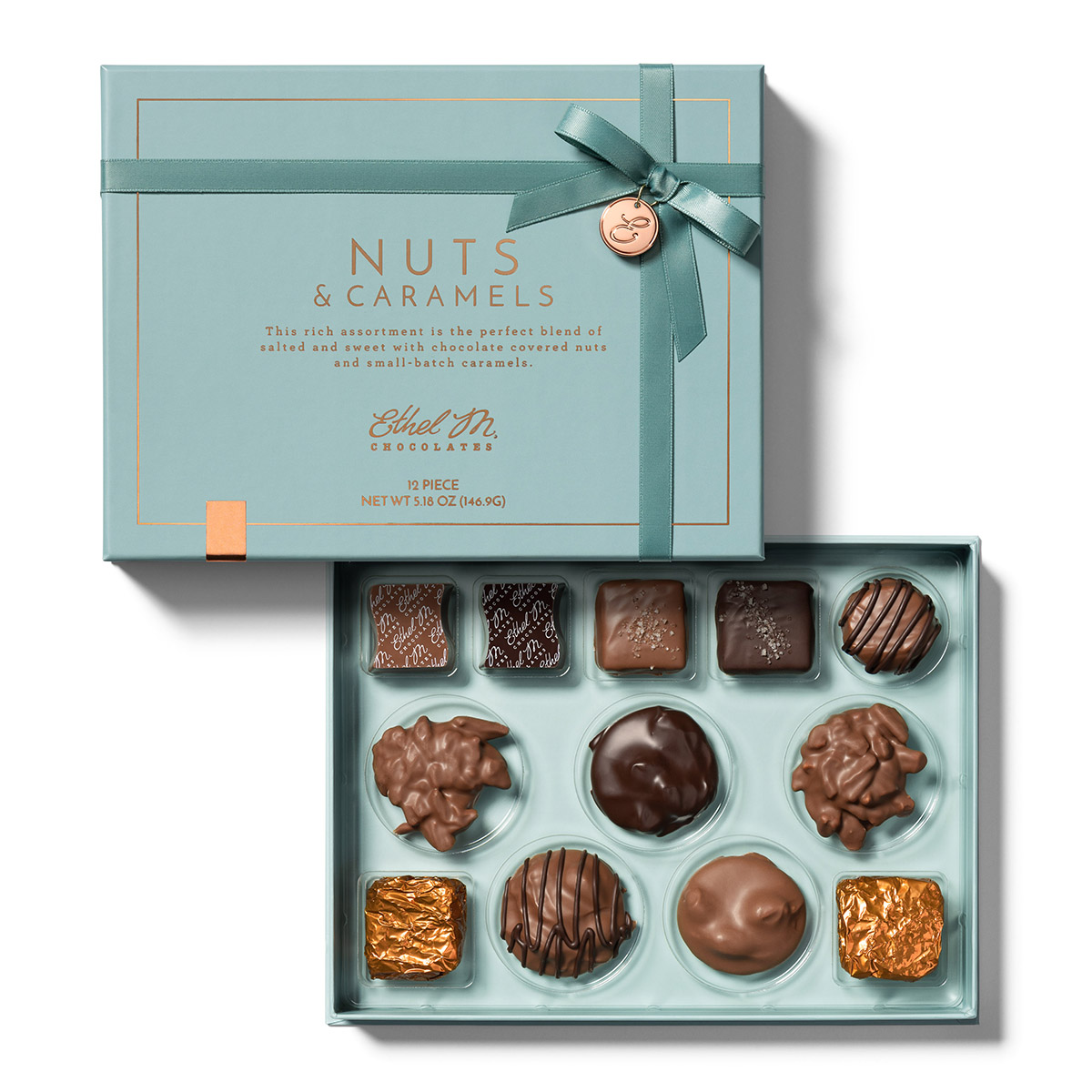 12pc nut and caramel