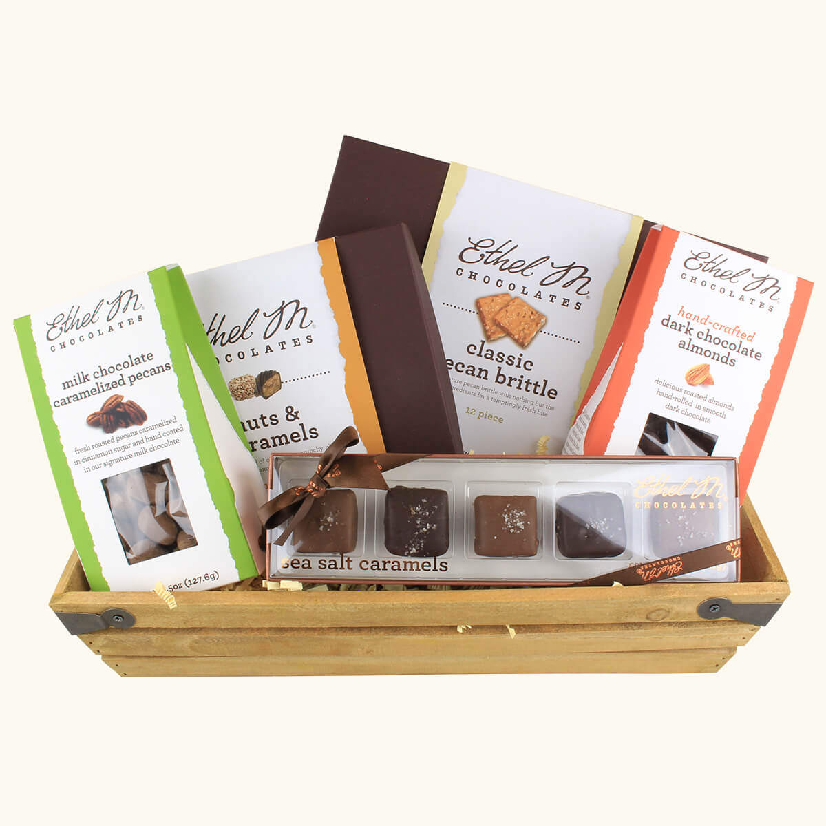 Nut and Caramels Gift crate