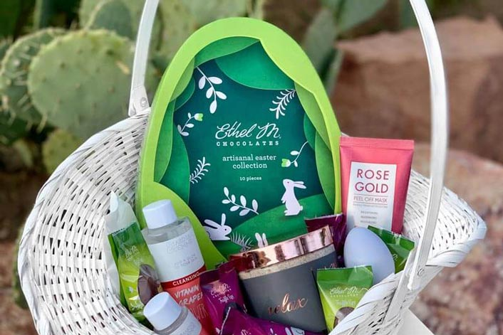Ethel M Easter Basket Ideas