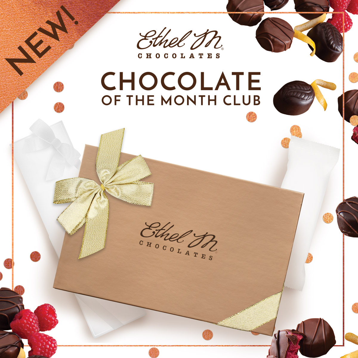 ethel m introduces Chocolate of the Month Club