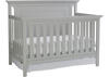 Carino Misty Gray Convertible Crib by Ti Amo