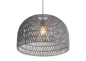 Inception Dome Ceiling Lamp Gray