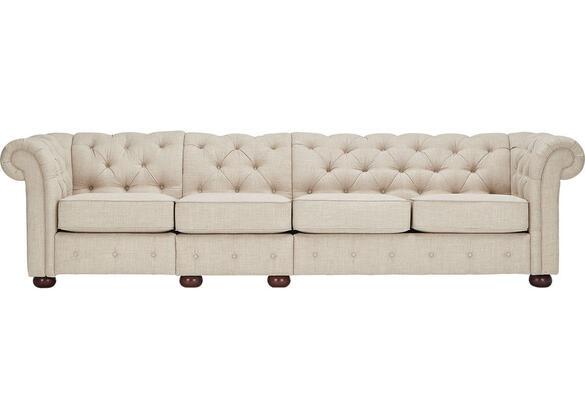 Barrington Beige Linen Extra Wide Sofa