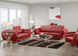 MARS 3 PC LIVING ROOM RED