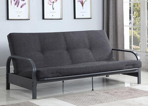 Dark Gray Futon Frame