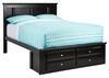 CATALINA FULL PLATFORM BED BLK BLACK