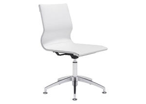 Glider White Conference Chair