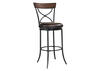"Cameron 41"" X-Back Swivel Counter Stool"