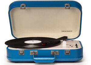 Crosley Couple Blue Turntable