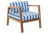 Bilander Blue & White 3 Pc. Patio Set