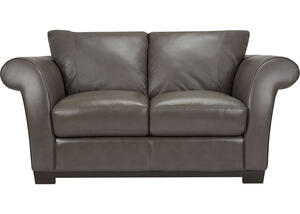 Biella Gray Loveseat