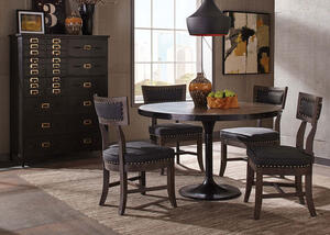 Mayberry Brown 5 Pc. Dinette