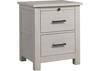 Lucca Sea Shell White Nightstand by Dolce Babi