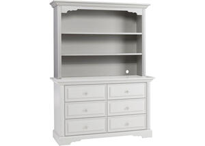 Venezia Misty Gray Hutch by Dolce Babi