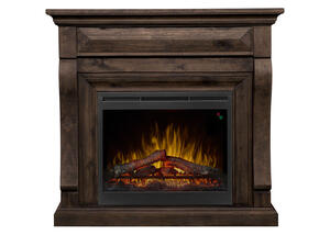 Dimplex Samuel Mantel Fireplace Gray
