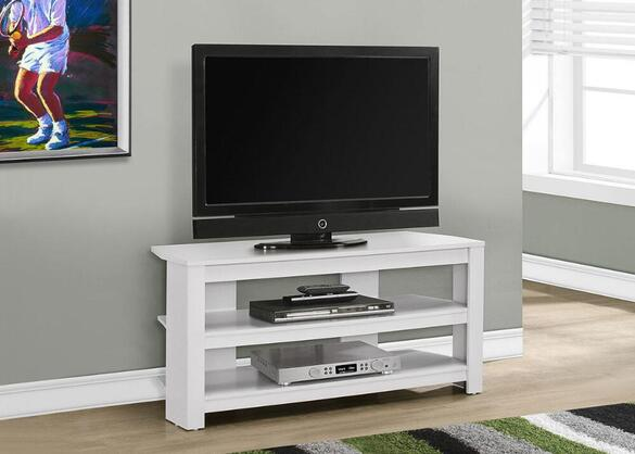Trimble White 42 Corner Tv Stand The Roomplace