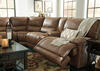 Spruce 6 Pc. Power Sectional w/Armless Chair