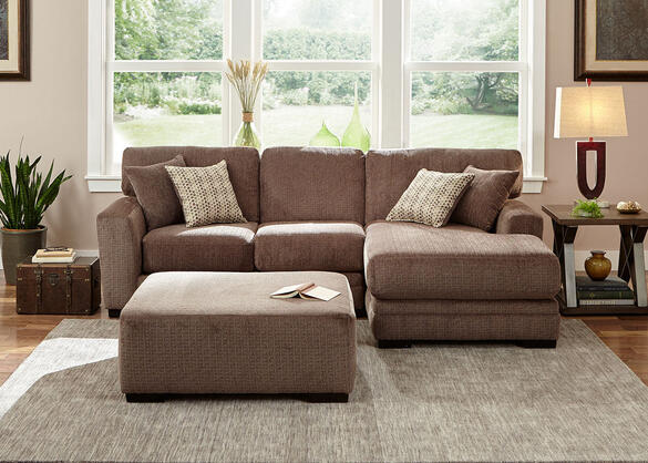 Easton Gray 2 Pc. Sectional w/Chaise