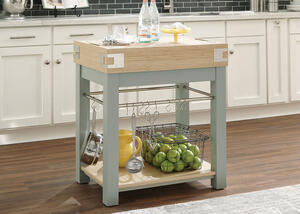 Mint Kitchen Island by Scott Living