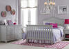 Catania Misty Gray Convertible Crib by Ti Amo
