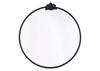Empire Round Mirror Black