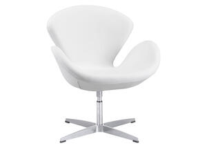 Pori Arm Chair White White