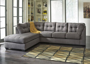 MARLO 2 PC RAF SLPR SECTIONAL CHARCOAL