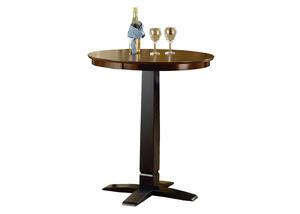 Dynamic Designs Pub Table - Black/Brown Cherry