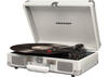 Crosley Cruiser Deluxe White Sand Turntable