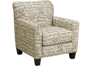 Arthur Script Accent Chair