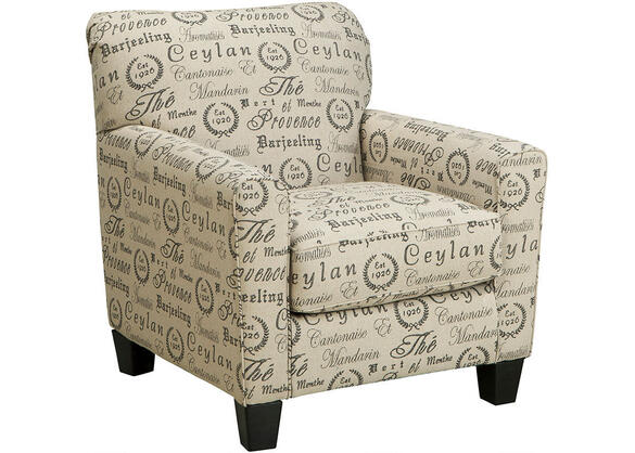 Arthur Quartz 3 Pc. Sleeper Living Room w/Script Accent Chair