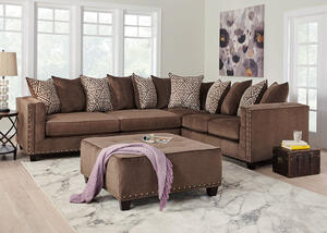 Bristol Brown 2 Pc. Sectional
