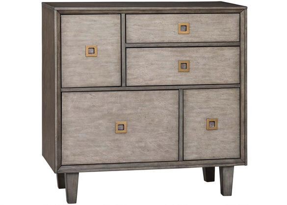 Rustic Weathered Grey Accent Cabinet by Scott Living