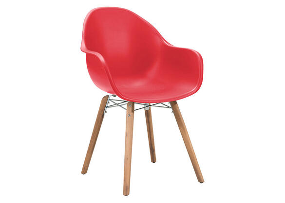 Tidal 4 Pc. Red Dining Chair