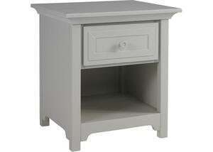 Ti Amo Misty Gray Nightstand