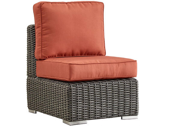Langstone Charcoal Armless Chair